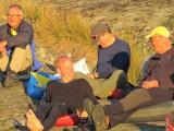 Per, Johan, Vincent och Kjell   Foto Anita
