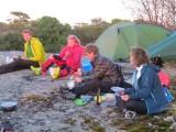Ulf, Nilla, Lena och Anna  Foto Anita