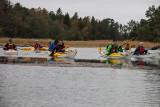 Många fina små passager på under dagens paddling.
