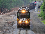 Train 174 starts across the slow order at MP 164.0