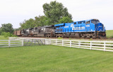 Conrail 8098 on a 796 coal train at Vanarsdale KY