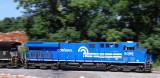 A  Standing Pan of Conrail 8098 as it leads empty coal train 797 near Elihu Ky