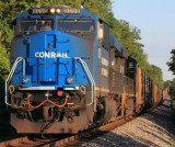 Conrail 8098 working as the DPU on another load of Indiana coal