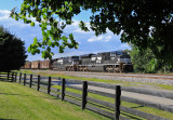 NS 1030 The Birthday Ace leads Eastbound 792 at Waddy Kentucky