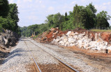 Blasting has progressed to a point about a mile North of CP grove on 06/22/13
