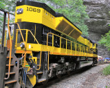 Virginian 1069 on display at Natural Tunnel