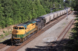 NS 55A crosses over at Revilo Ky with RDG 1067 on the point