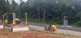 Subgrade finished and ready for ballast at Jones knob 07/21/13
