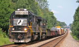 NS 117 comes out of the big swag at Gradison