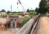 Progress on the Jones Knob bridge 08/17/13