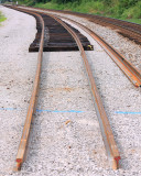 08/17/13 Current end of the new #2 track at Elihu. Once the Pittman Creek bridge is complete, they can continue South