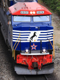Red White and Blue, NS 6920 at Harrodsburg, Kentucky