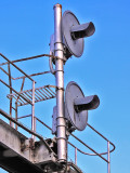 GRS Model SC searchlight signals at Waynesburg KY