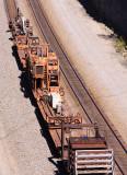 Rail loader / unloader on the rear of 912