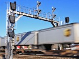 The Christmas season means peak UPS traffic on the NS. 295 hustles South at Waynesburg, KY