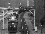 111 passes the old Southeast coal loadout at Revilo