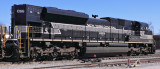 NYC 1066 catches its breath for a few minutes at Danville, waiting on a fuel truck to arrive