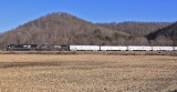 NS 048, The Northbound RB&BB Red Unit Circus train, near Southfork KY on the CNO&TP