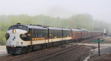 The fog on Black Wolf Creek is just starting to lift as 955 rolls South at Glen Mary, TN