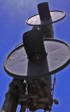 GRS Model SC Searchlight signals, Northbound home signal at Southfok, KY