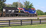 NS 6920, The Veterans Unit, leads Eastbound 285 at Waddy, KY