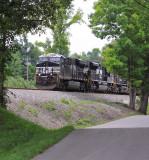 Southbound 117 near Pemberton, TN