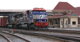 NS 6920 (The Veterans Unit) brings train 147 by the CNO&TP depot at Danville, KY