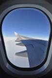 Plane window.....