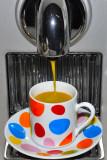 Colored BLACK coffee !