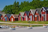 Summer in Sweden with RED boathouses