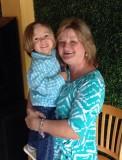 Linda and grandson Easton