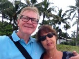 Carl and Bridget on vacation in Naples