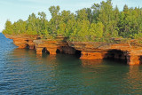 Apostle Islands Sea Caves Lake Superior Wisconsin