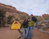 Arches Campsite