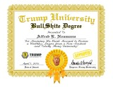 Trump University Certificate