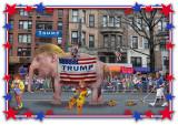 Trump Clown Parade