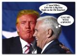 Trump/Pence Kissy Face