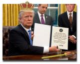 Trump Signs Executive Order Declaring Himself Emperor