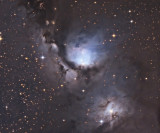 M78 - Illuminated dust