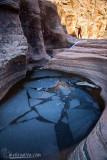 Frozen Pool in Zion