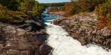 Fast moving river, Big Chute