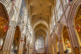 Bath Abbey nave and ceiling