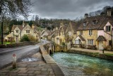 Bridge and main street, Castle Combe