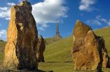 Stone and Memorial, Ham Hill (2259)