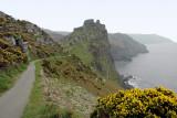 Coastal path, Valley of the Rocks (2215)