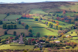 Looking down on Widecombe (1662)