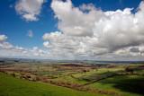 Low cloud over West Dorset