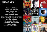 My PlayListe 2009