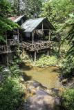Village Padaung Tribue des Kayan