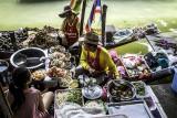 Damnoen Saduak le marché flottant